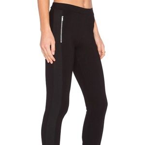 Splendid Ponte mixed black legging